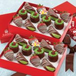 chocolate dipped fruit gift box