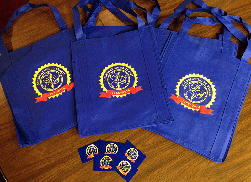 anniversary bags and gift cards