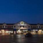 Evening View of Paoli Village Shoppes