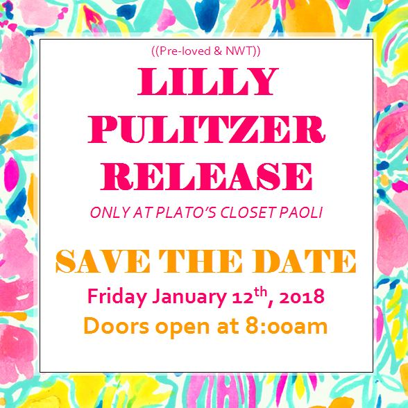 Start The New Year With New Threads At Plato S Lilly Pulitzer Release 1 12 Paoli Village