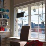 Christmas Window Decor at Studio H