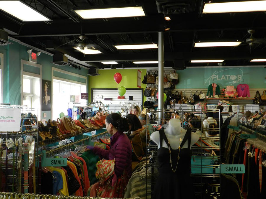 Customers shopping at the Plato's Closet in Paoli