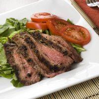 Flank Steak With Coffee Rub