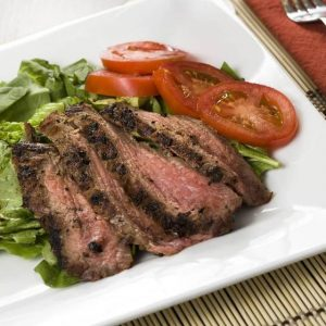 Flank Steak With Coffee Rub