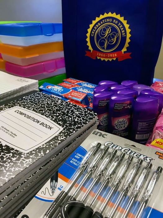 Goody Bags for T&E Care