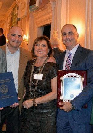 PVS receiving Award