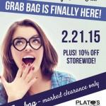 Plato's Closet Grab Bag Sale Flyer
