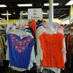 Shirt display at Plato's Closet Paoli location
