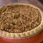 Pumpkin Pie with Gingersnap Streusel II
