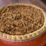 Pumpkin Pie with Gingersnap Streusel II