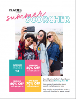 Plato's Closet 2018 Summer Scorcher Sale