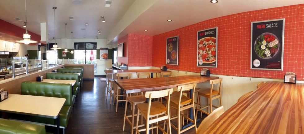 Skinny Pizza Dining Room