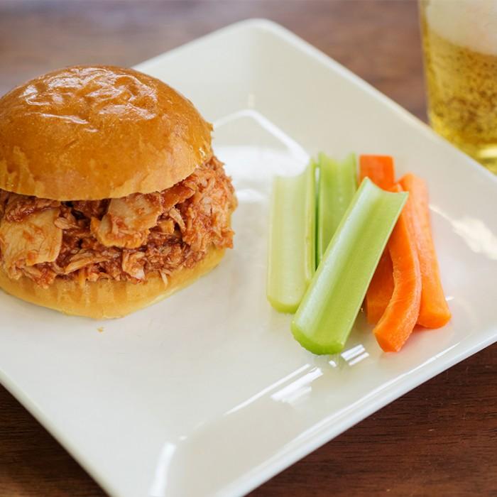 Southern Pulled BBQ Chicken Sandwich