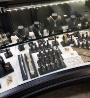 Display Case at Testa Fine Jewelry