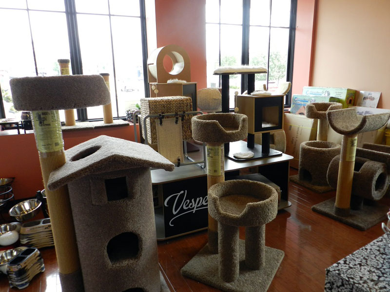 Cat houses in Paoli