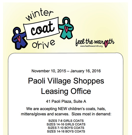 Philly Coat Drive