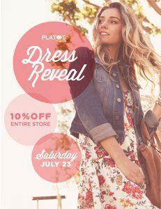 dress reveal event