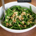 french green beans with shallot butter