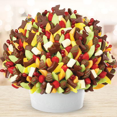 Christmas Edible Arrangement