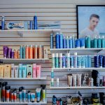 Hair products for sale at Studio H