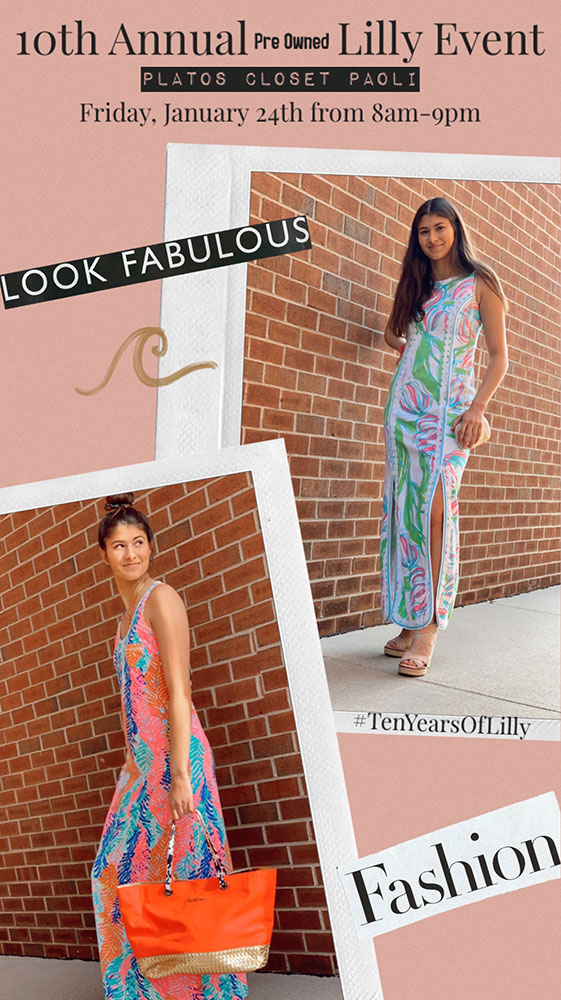Lilly Pulitzer Event at Plato's Closet 2020